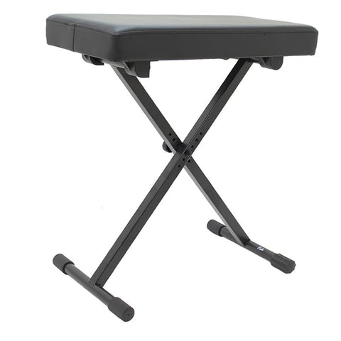 KODA ES04 Adjustable X Keyboard Bench in Black