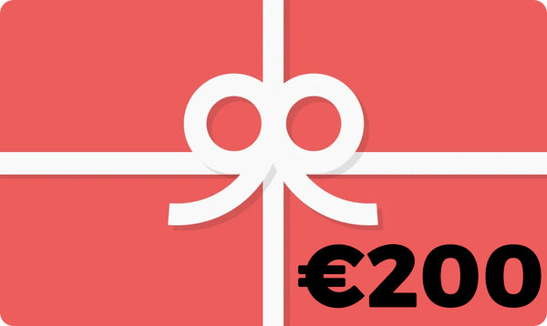 Gift Card - €200.00