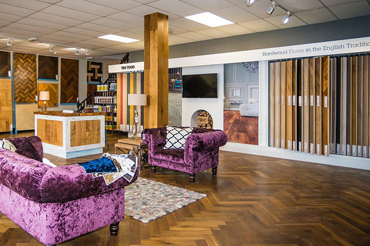 Family owned Wood Floor Company invests over £100K in new purpose built showroom facility