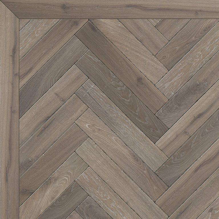 Sample of Aura Tumbled Herringbone