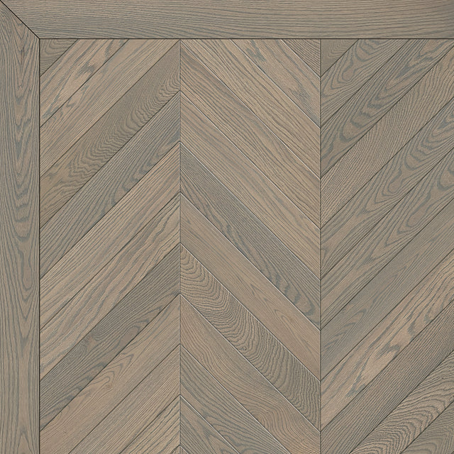 Flocked Steel Chevron