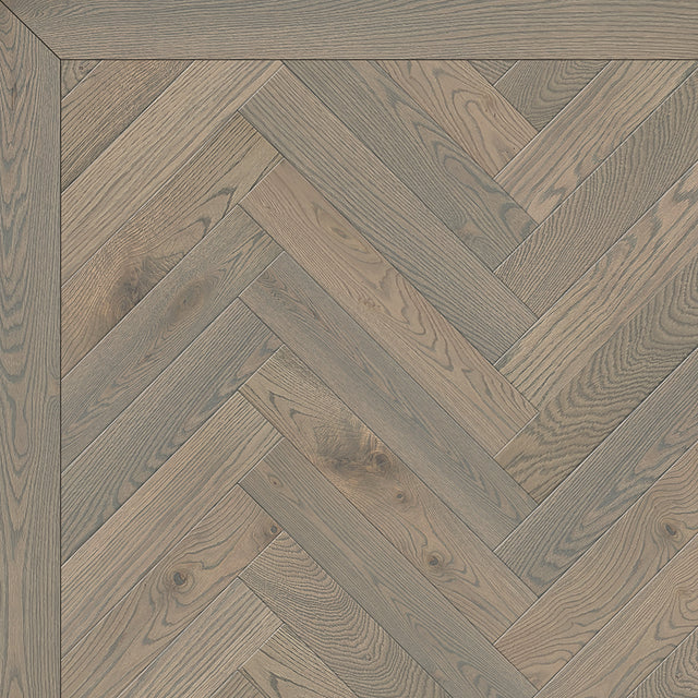 Flocked Steel Herringbone