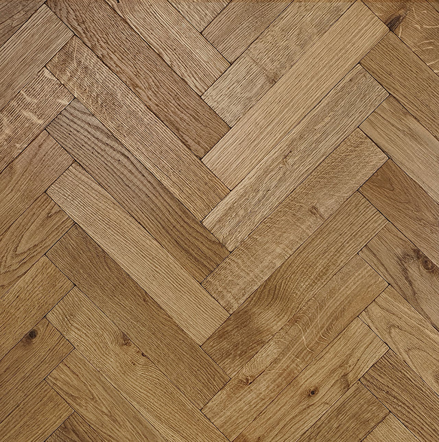 Bishop Distressed Herringbone Battens