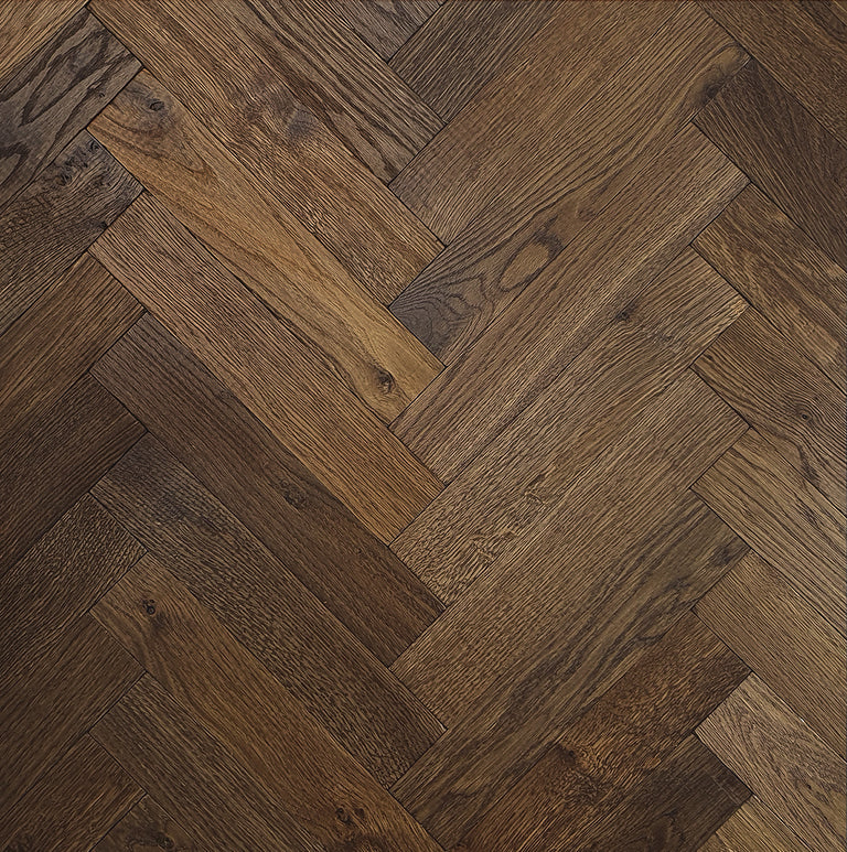 Cavern Distressed Herringbone Battens