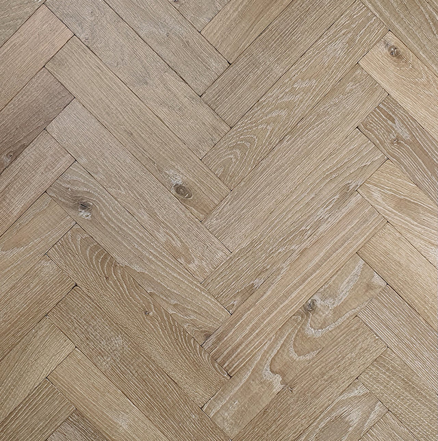 Blossom Distressed Herringbone Battens