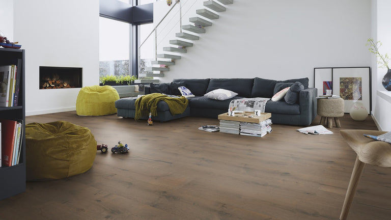 Lindura Clay Grey Rustic Oak
