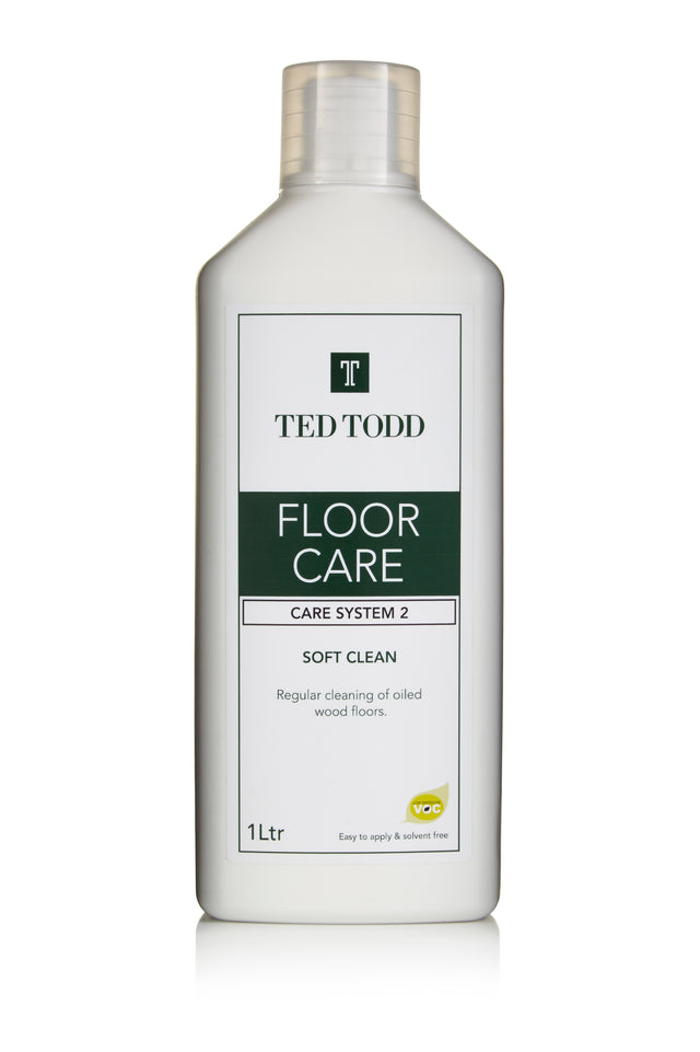 Ted Todd Floor Clean - Soft Clean - 1Ltr