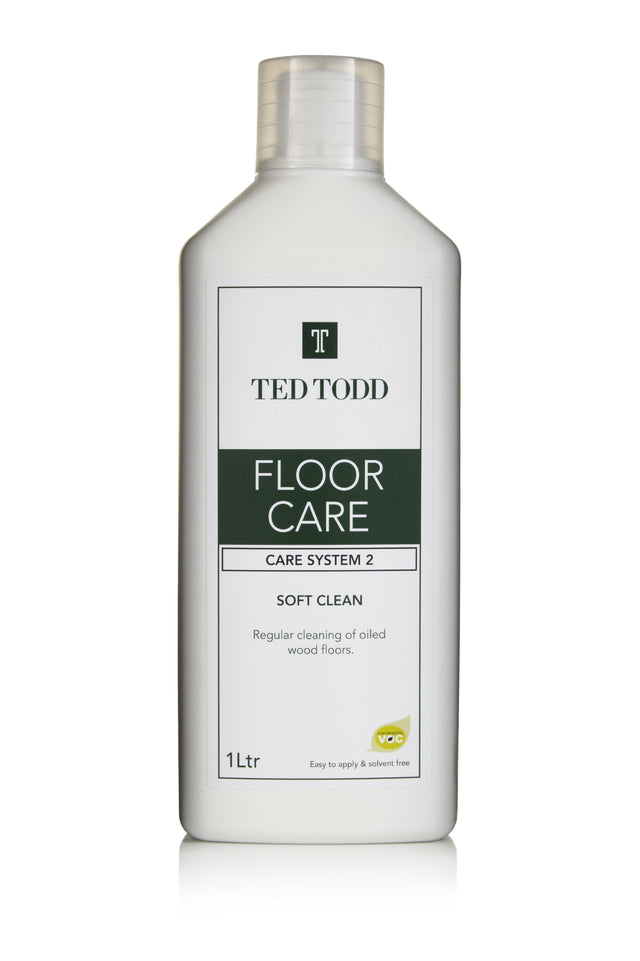 Ted Todd Floor Clean - Soft Clean - 5Ltr