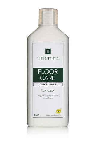 Ted Todd Floor Clean - Soft Clean - 1Ltr - £19.20