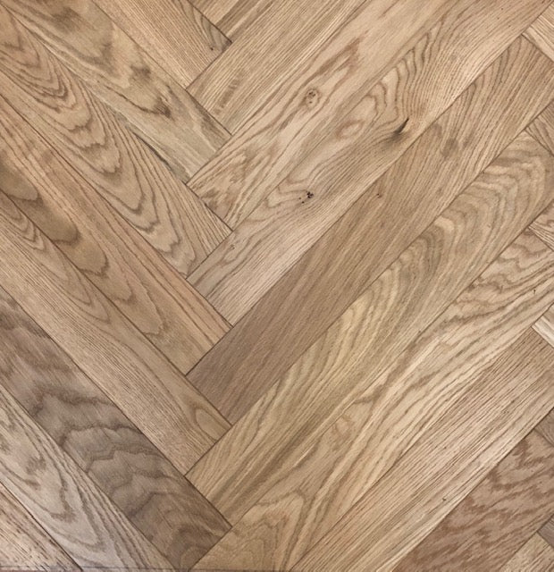 Charming Oak Herringbone