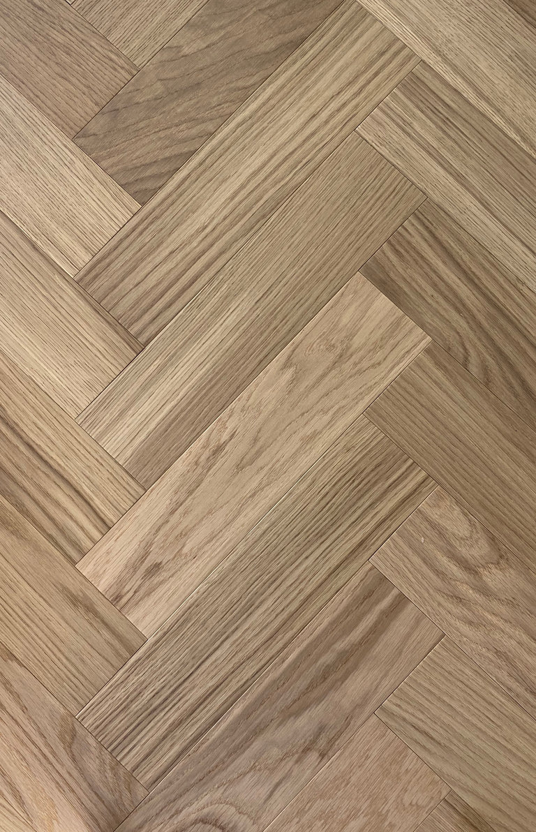 Sample of Wild Oak Herringbone