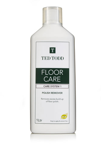 Ted Todd Floor Care Polish Remover 1Ltr