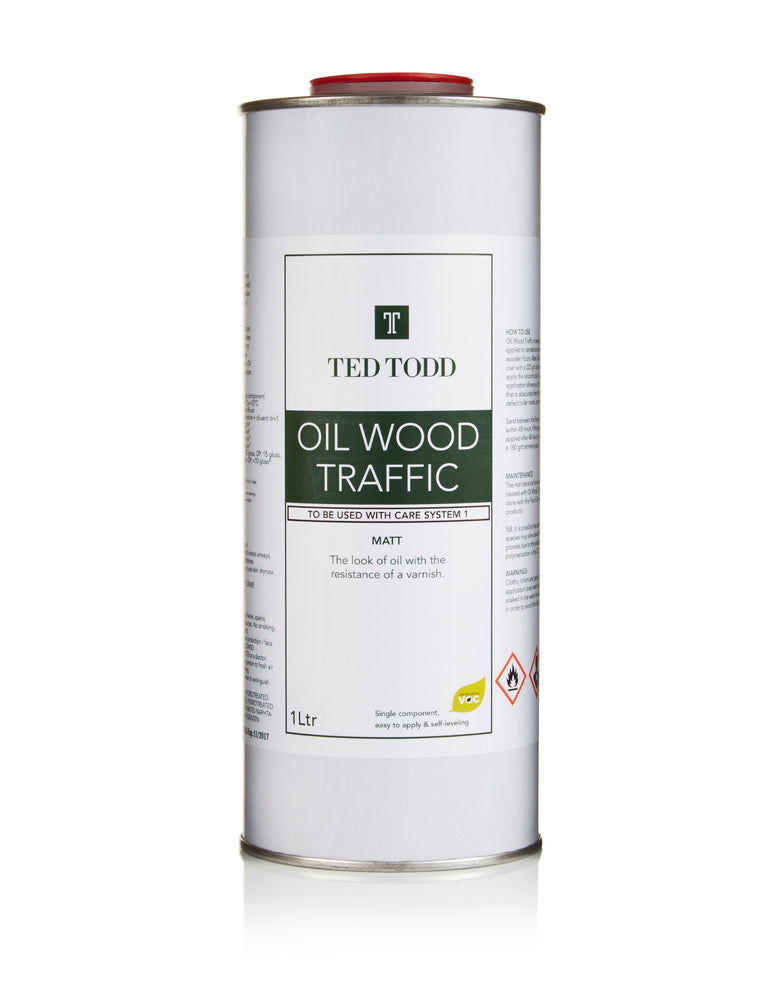 Ted Todd Oil Wood Traffic 1Ltr