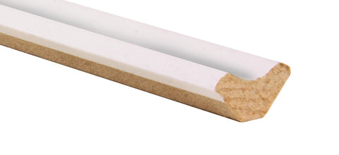 MDF White Primed Scotia - £7.00