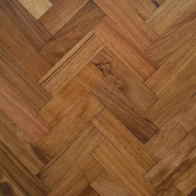 17.156m2 Unfinished Afzelia Doussie Solid Parquet Blocks Flooring 230 x 70 x 20mm