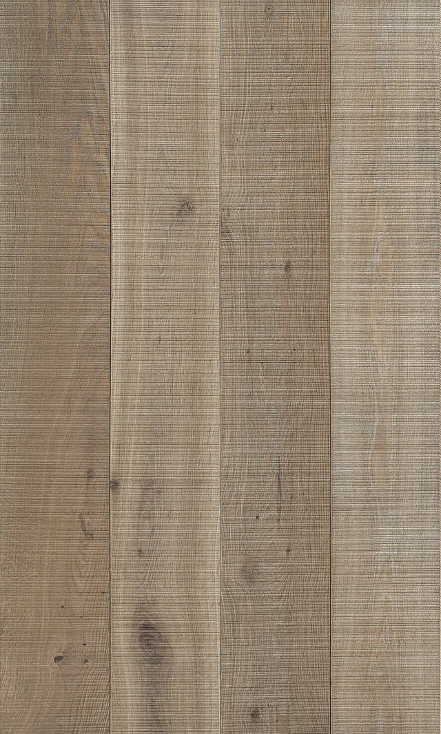 32.48m2 European Engineered Oak Flooring Light Smoked Bandsawn 180 x 20mm