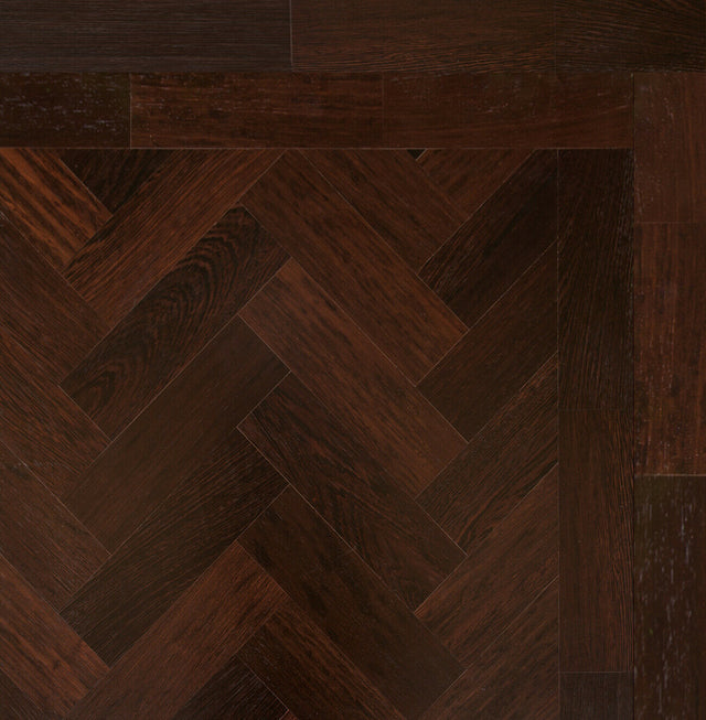 22m2 Unfinished Wenge Solid Parquet Blocks Flooring 230 x 70 x 20mm
