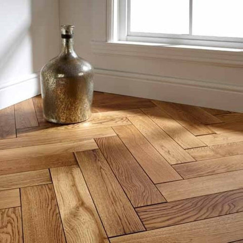Sample of Portixol Engineered Parquet Flooring