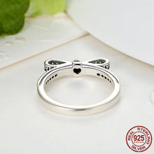 Load image into Gallery viewer, 【100% 925 Sterling Silver】 Bow Knot  Ring (2 colors)