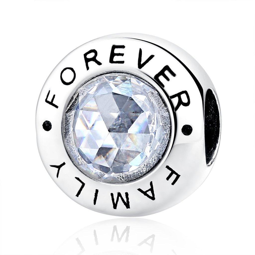 [925 Sterling Silver] Forever Family  Charms