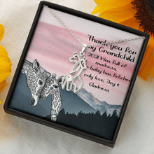 Load image into Gallery viewer, Best Gift For My Grandchild - Giraffe necklace