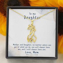 Load image into Gallery viewer, To My Daughter - Mother And Daughter - Necklace