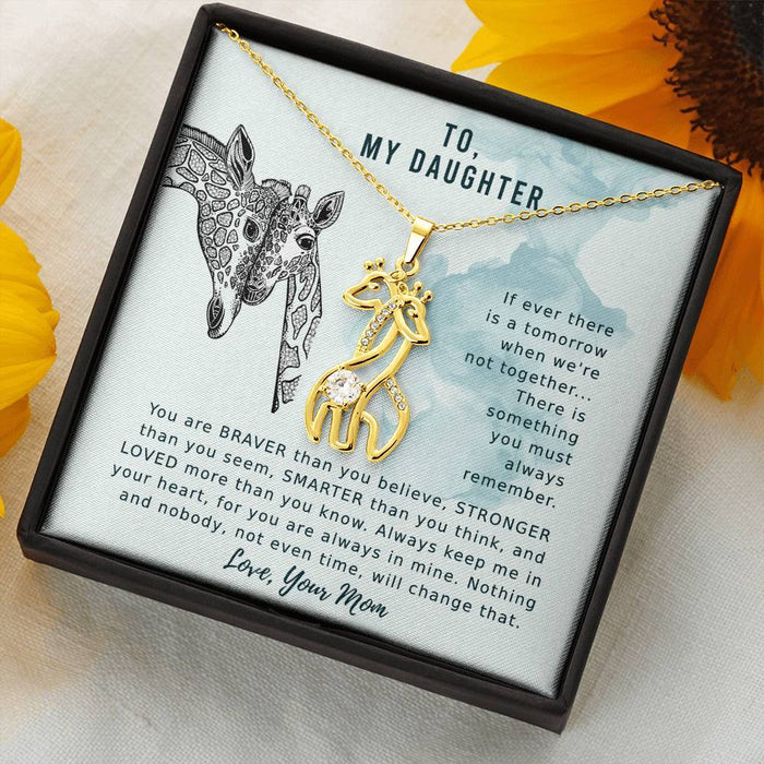 Always Remember - Necklace For Daughter From Mom