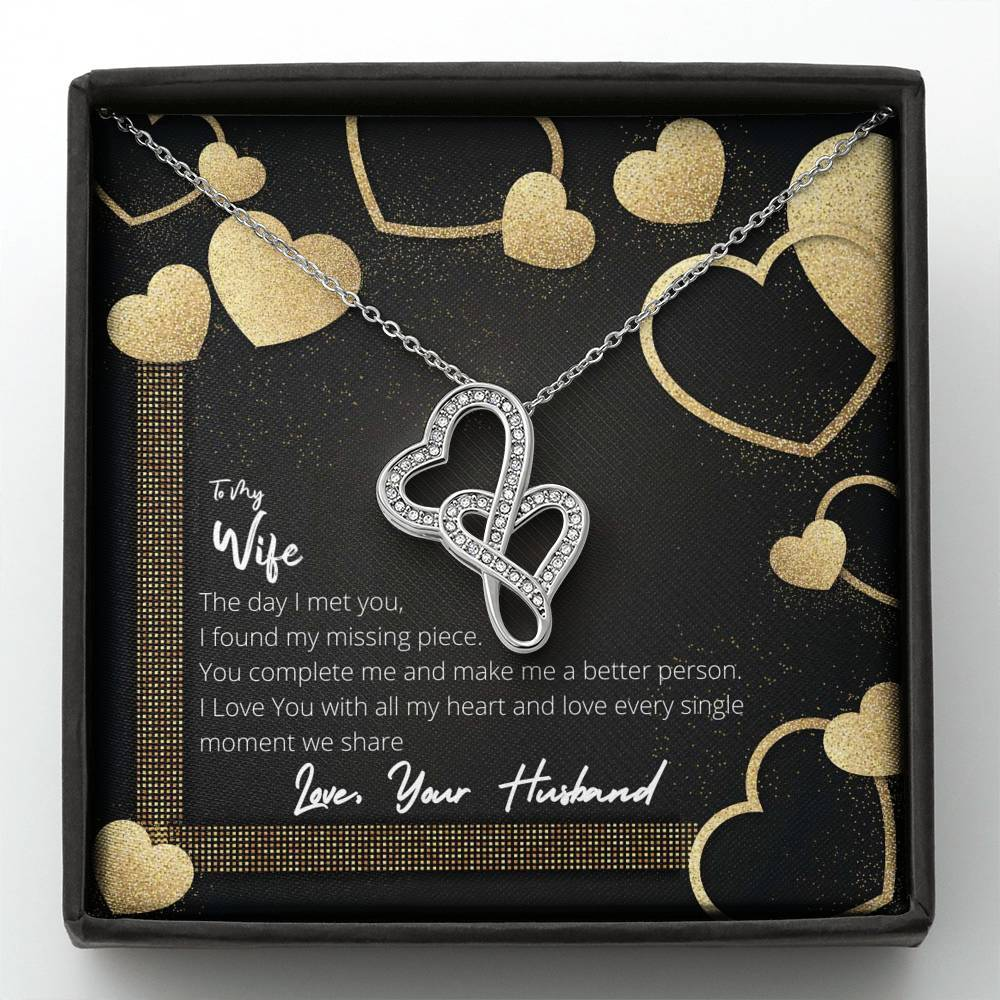 [Special Edition] To My Wife - I Love Every Moment We Share - Necklace