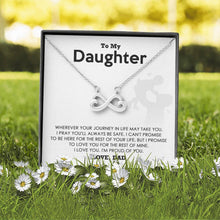 Load image into Gallery viewer, To My Daughter - I'm Proud of You - Necklace