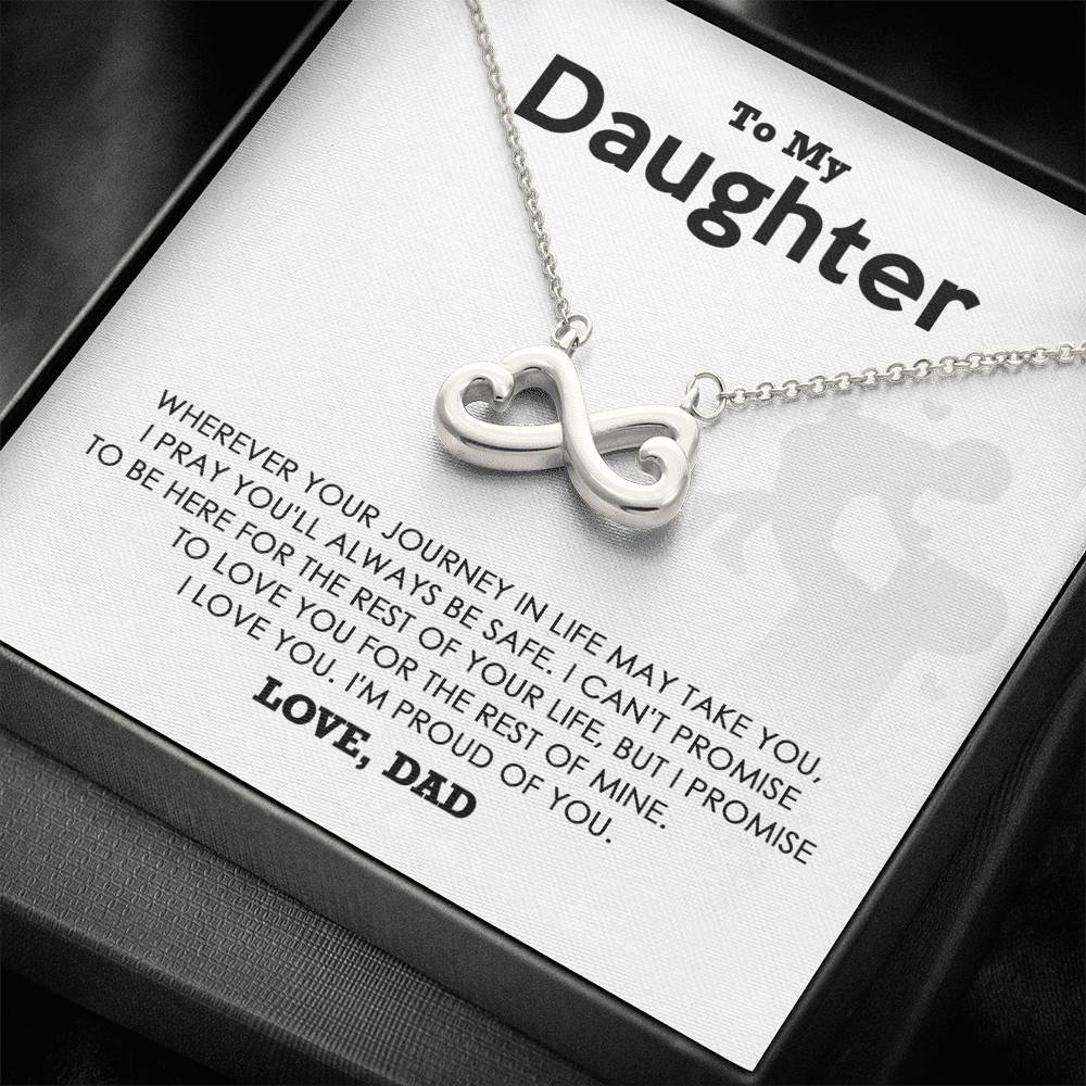 To My Daughter - I'm Proud of You - Necklace