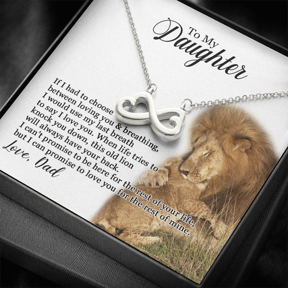 To My Daughter - Promise To Love You - Necklace