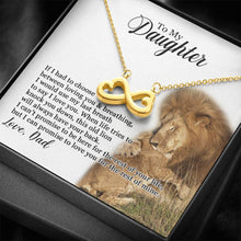 Load image into Gallery viewer, To My Daughter - Promise To Love You - Necklace