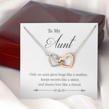 Load image into Gallery viewer, To My Aunt Pendant Necklace Jewelry Gift Ideas