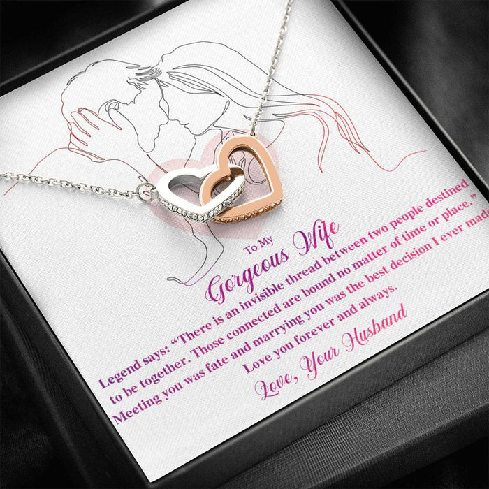 Alluring Beauty Necklace- Valentine Gift for My Wife- Love her forever