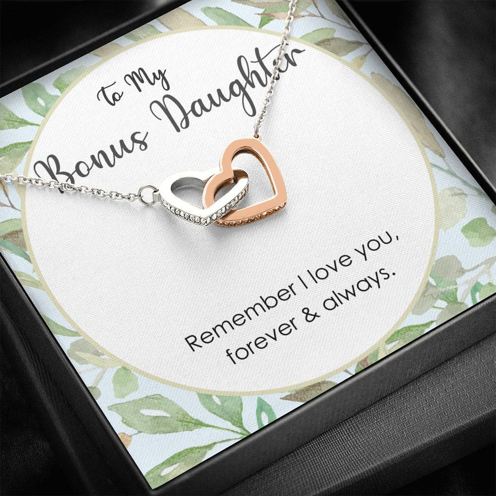 gift for stepdaughter - Remember I Love You Forever & Always