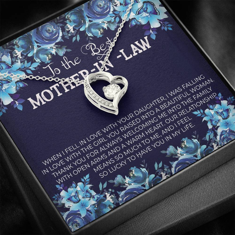 To The Best MOTHER-IN-LAW - Forever Love Necklace