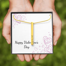 Load image into Gallery viewer, Valentines - Vertical Stick Necklace Gift Set