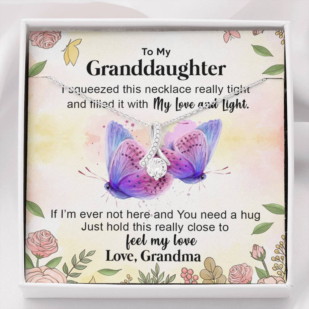To My cute Granddaughter - I'll Always Be With You