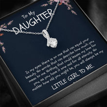 Load image into Gallery viewer, To My Daughter - Ribbon Necklace - Birthday, Christmas, Graduation, Engagement - From Mom / Mother / Mommy