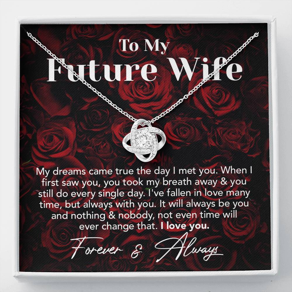 Dream Future Wife Valentine's Day Forever Love Necklace