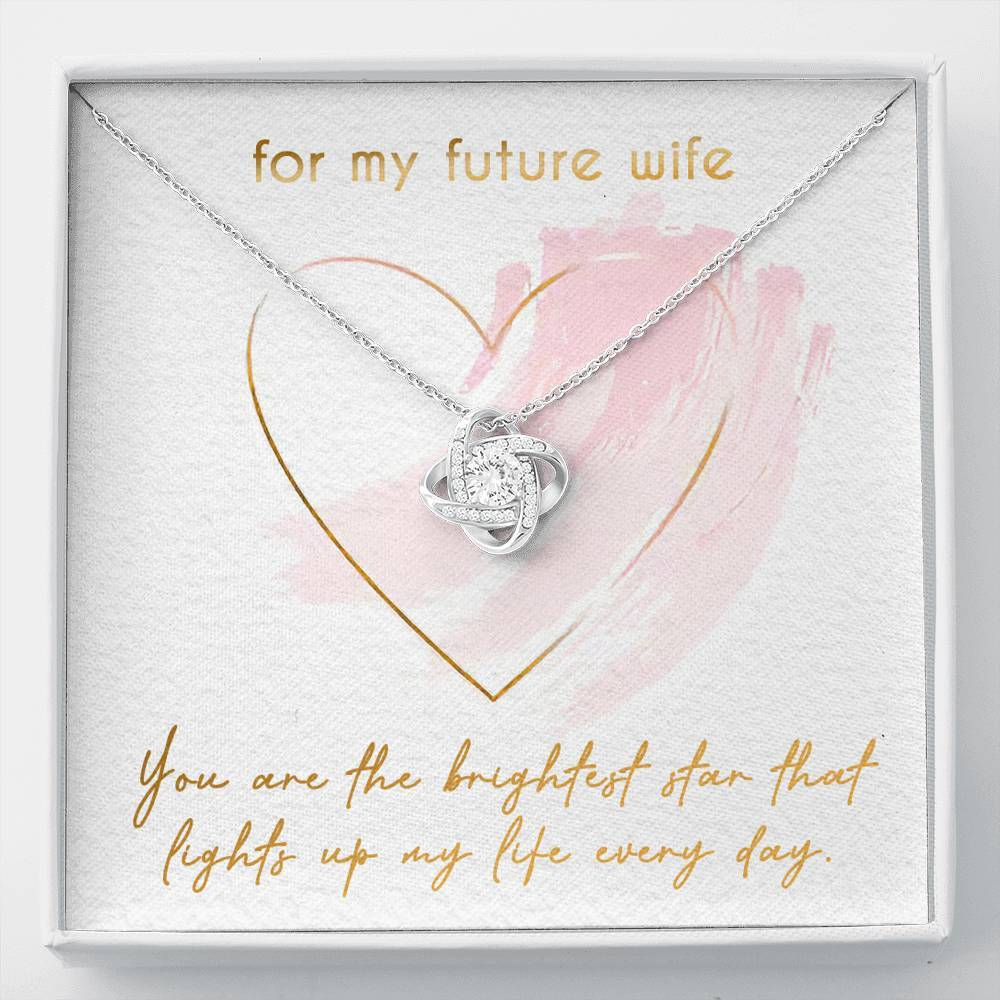 Valentine's Day Cute Relationship Knot Pendant