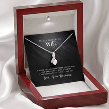 "Load image into Gallery viewer, ""To My Wife"" - I Would Use My Last Breath to Tell You, I Love You - Alluring Beauty Necklace Gift Set"