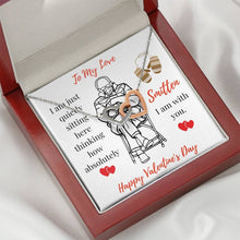 Load image into Gallery viewer, Valentine's Day Gift - I'm Smitten - Gift to Wife - Gift to Girlfriend - To My Love Heart Pendant