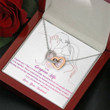 Load image into Gallery viewer, Alluring Beauty Necklace- Valentine Gift for My Wife- Love her forever