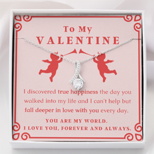 Load image into Gallery viewer, (Almost Gone) Valentine's - True Happiness - Necklace Gift Set