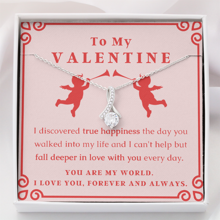 (Almost Gone) Valentine's - True Happiness - Necklace Gift Set