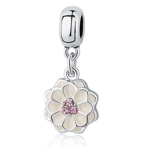 【Environmental Zinc Alloy】Blooming Dahlia Charms For Bracelets&Necklaces
