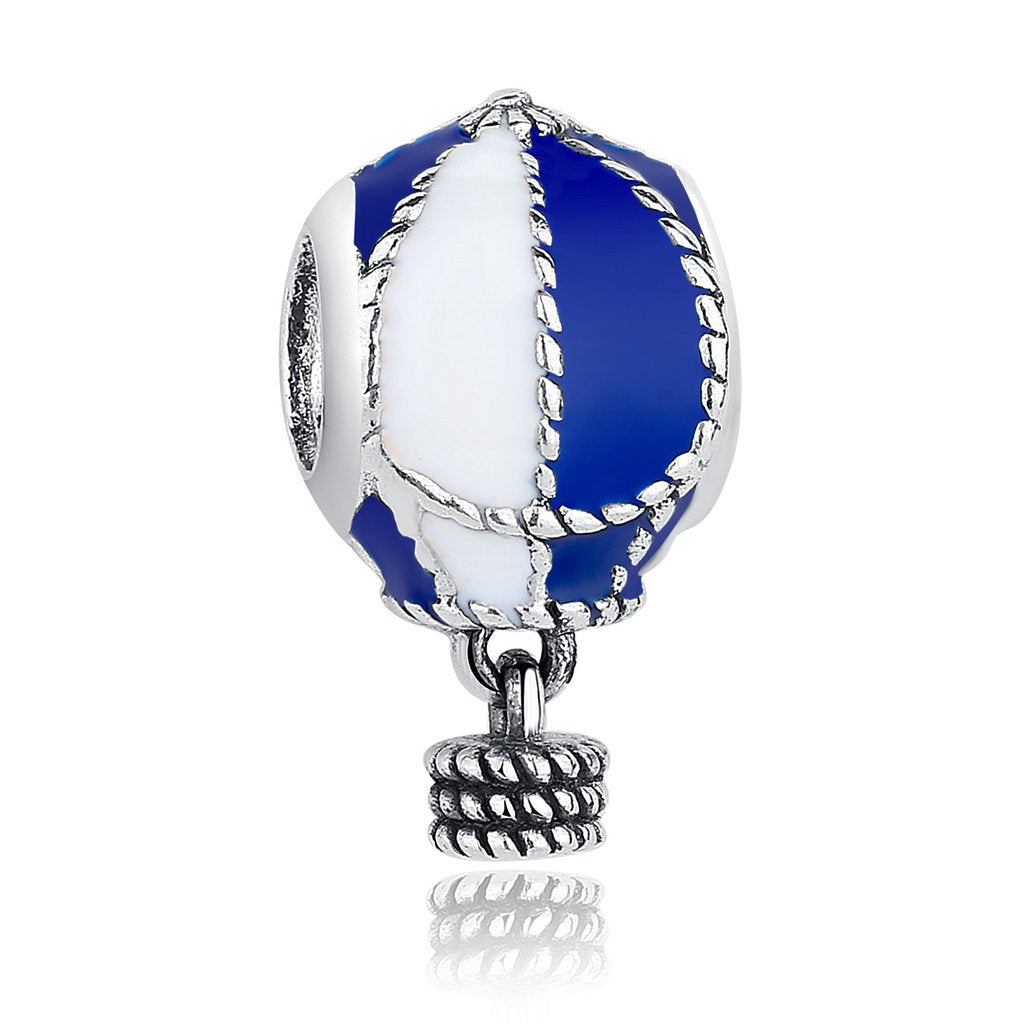 【925 Sterling Silver】 Hot Air Balloon Charms