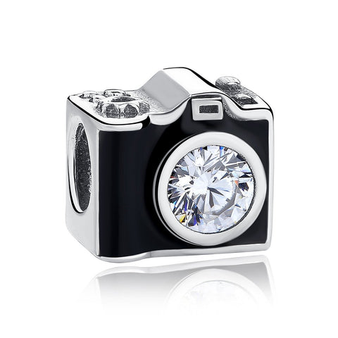 【925 Sterling Silver】Snapshot Camera Charm