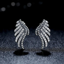 Load image into Gallery viewer, 【925 Sterling Silver】Beautiful  Majestic Feathers Earrings